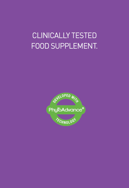 CLINICALLY TESTED FOOD SUPPLEMENT