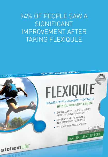94% OF PEOPLE SAW A SIGNIFICANT IMPROVEMENT AFTER TAKING FLEXIQULE