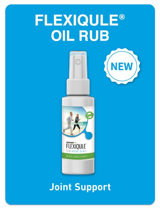 FlexiQuleTM Natural Oil Rub