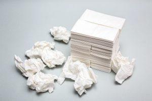 Disposable handkerchiefs