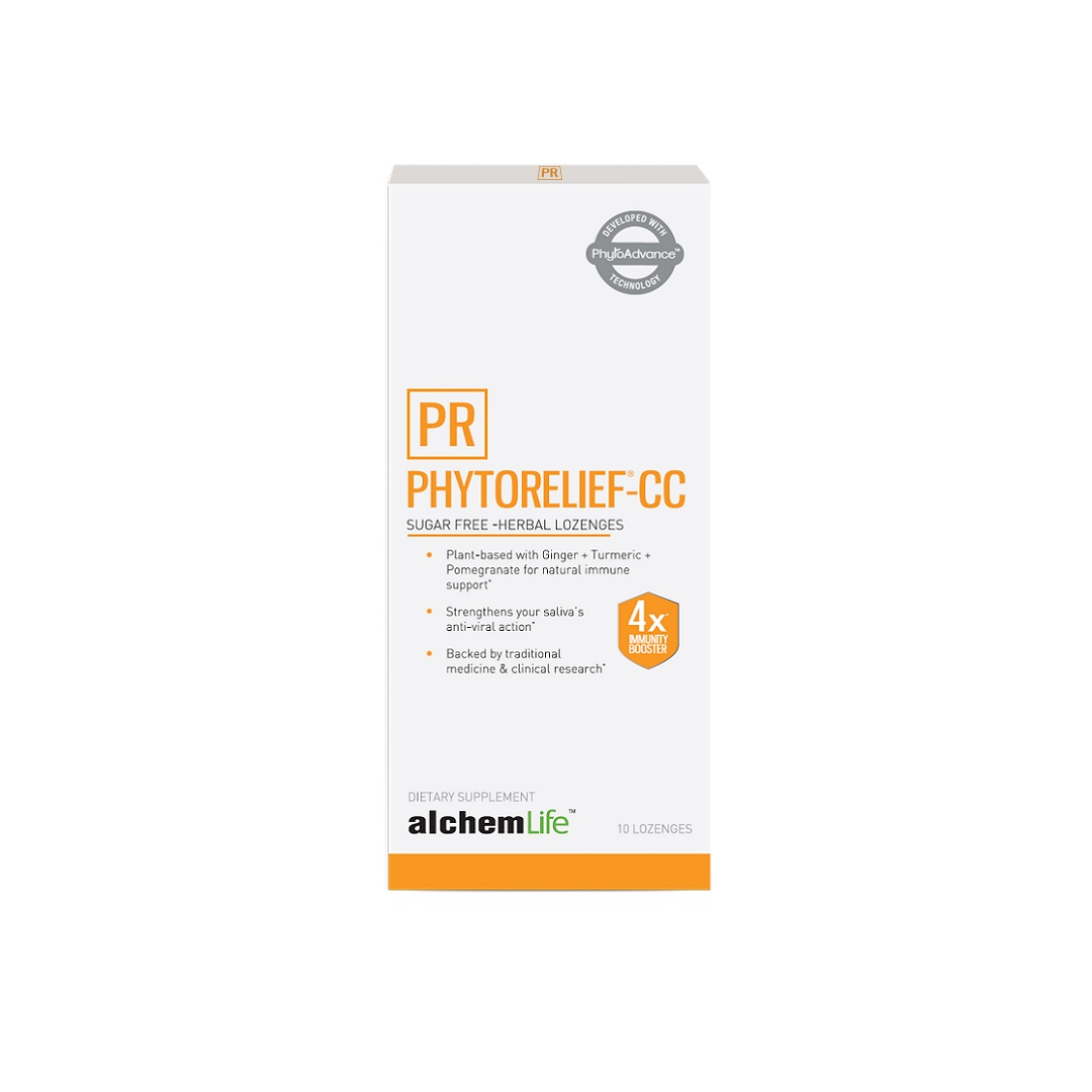 PhytoRelief-CC Sugar-Free Immunity Support Lozengier